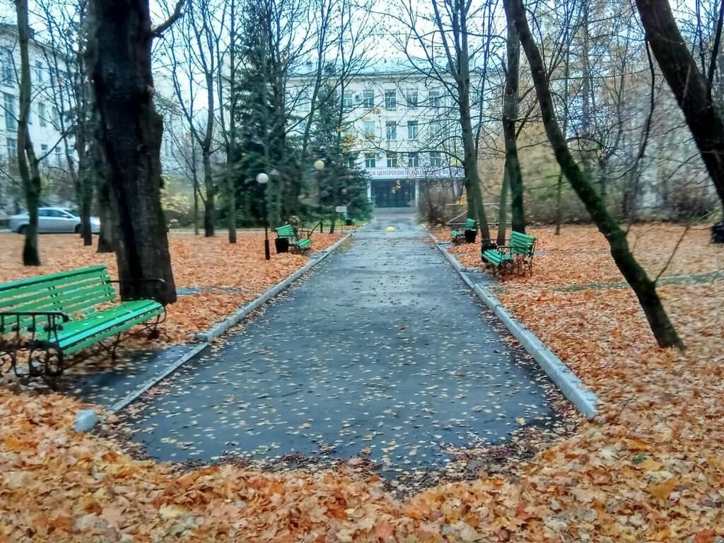 Бльница центросоюза осенью